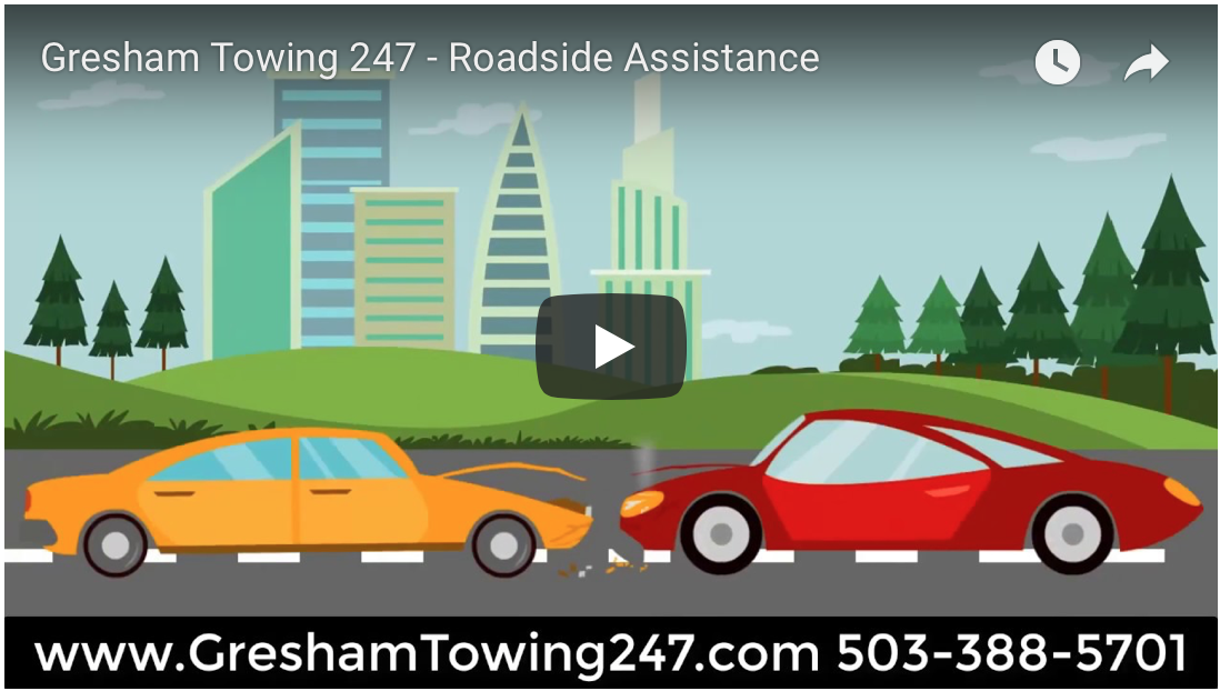 gresham towing is fast and easy