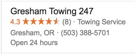 Best 24hr Towing Gresham