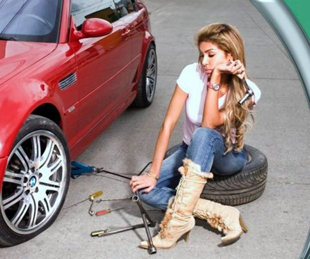 Flat Tires suck that's why we offer 24 hr Tire Changing Service